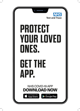 Preview of A4 poster - protect your loved ones get the app