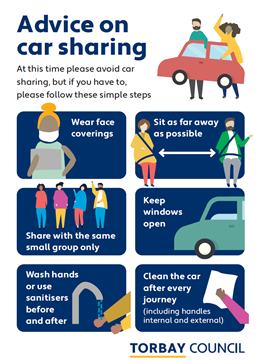 Preview of A4 poster - advice on car sharing